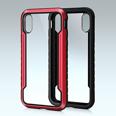 رخيصةأون أغطية أيفون-القضية لابل اي فون xs / iphone xs max للصدمات الغطاء الخلفي درع الألومنيوم الصلب ل xs / iphone xs max