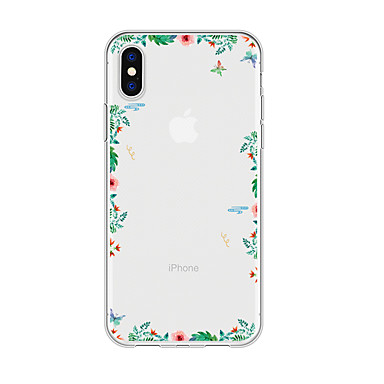 voordelige iPhone 6 Plus hoesjes-hoesje voor iphone x xs max xr xs achterkant zachte hoes TPU eenvoudige bloem zachte TPU voor iPhone5 5s se 6 6p 6s sp 7 7p 8 8p16 * 8 * 1