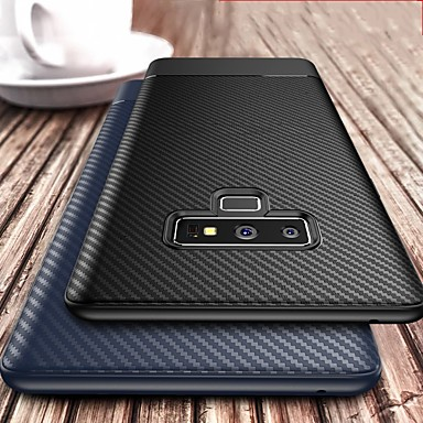 cheap Galaxy Note Series Cases / Covers-Carbon Fiber Soft Tpu Phone Case For Samsung Galaxy Note 9 Note 8 Cases Cover Silicone