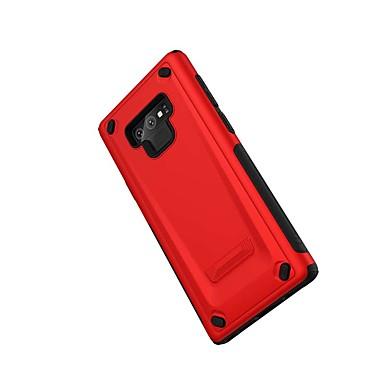 Недорогие Чехлы и кейсы для Galaxy Note-Кейс для Назначение SSamsung Galaxy Note 9 Защита от удара Кейс на заднюю панель броня ПК
