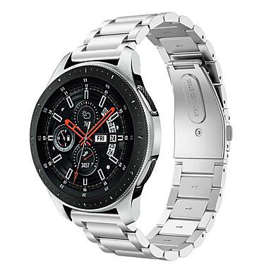 Недорогие Часы для Samsung-Ремешок для часов для Gear S3 Frontier / Gear S3 Classic Samsung Galaxy Классическая застежка Нержавеющая сталь Повязка на запястье