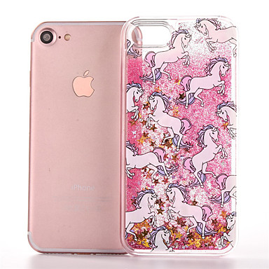 Недорогие Кейсы для iPhone X-чехол для яблока iphonex / iphonexs / iphonexr / iphone 8 plus / iphone 8 прозрачный / пыленепроницаемый / водостойкий задняя крышка однотонная мягкая тпу для iphone 6 / iphone 6 plus / iphone 6s