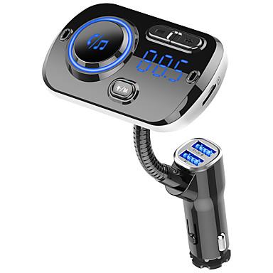Недорогие Bluetooth гарнитуры для авто-YuanYuanBenBen Bluetooth 5.0 Комплект громкой связи Автомобильная гарнитура Bluetooth / QC 3.0 / MP3 Автомобиль