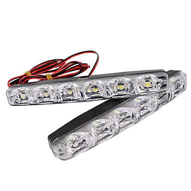 voordelige Autoverlichting overdag-2 stks 6-led-dagrijverlichting drl mistlamp dagverlichting daglicht 12 v voor alle auto