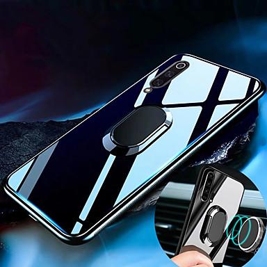 povoljno Maske za mobitele-kućište za kaljeno staklo za Samsung Galaxy a70 a50 a40 a30 a20 a10 kućište luksuzno teško kaljeno staklo sa stalkom prsten magnet zaštitni poklopac slučaj za Samsung a9 2018 a7 2018
