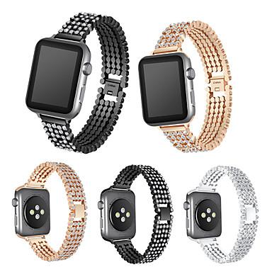 Недорогие Ремешки для Apple Watch-ремешок для часов shine diamond для apple watch watch series 4 3 2 1 браслет для 44мм 40мм 42мм 38мм ремешок из нержавеющей стали iwatch