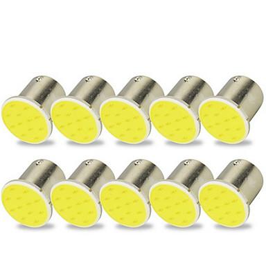 voordelige Motorverlichting-10 stuks 1156 Motor / Automatisch Lampen 2 W COB LED Richtingaanwijzerlicht / Remlichten / Achteruitrijlichten (back-up) Voor Universeel Alle jaren
