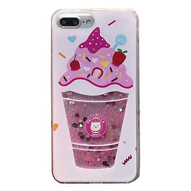 voordelige iPhone-hoesjes-hoesje Voor Apple iPhone XS / iPhone XR / iPhone XS Max Schokbestendig / Stofbestendig / Waterbestendig Achterkant Glitterglans Zacht TPU / PC / Stromende vloeistof