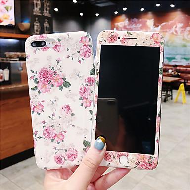 Недорогие Кейсы для iPhone 6 Plus-чехол для яблока iphone xr / iphone xs max pattern / imd задняя крышка цветок мягкий тпу для iphone x xs 8 8plus 7 7plus 6 6plus 6s 6splus