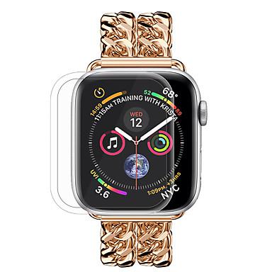 voordelige Smartwatch screenprotectors-nieuw gehard glas volledige dekking voor apple watch 4-serie 40 mm / 44 mm