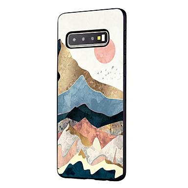 povoljno Maske/futrole za Galaxy S seriju-Θήκη Za Samsung Galaxy S9 / S9 Plus / S8 Plus Otporno na trešnju / Mutno / Uzorak Stražnja maska Krajolik TPU