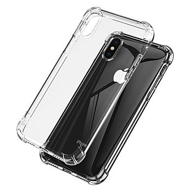 غطاء من أجل Apple iPhone XS / iPhone XR / iPhone XS Max ضد الصدمات / شفاف غطاء خلفي شفاف ناعم TPU