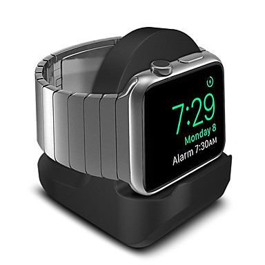 abordables Supports & Fixations pour Apple Watch-Apple Watch Design nouveau Silicone complet Bureau