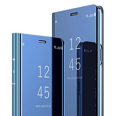 Недорогие Чехлы и кейсы для Galaxy S-Кейс для Назначение SSamsung Galaxy S8 со стендом / Флип Чехол Однотонный Твердый ПК