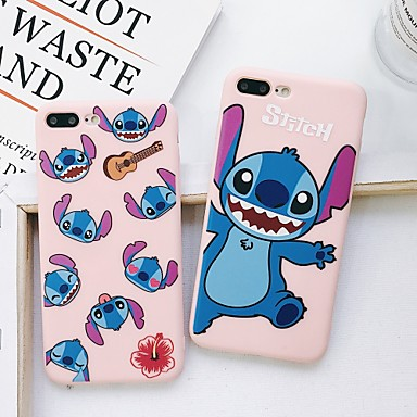 voordelige iPhone-hoesjes-hoesje Voor Apple iPhone XS / iPhone XR / iPhone XS Max Stofbestendig / Patroon / Backup Achterkant Cartoon silica Gel