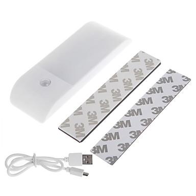 olcso Beépített LED világítás-3db 6 w 12 led gyöngyök infravörös érzékelő vezetett szekrény lámpák fehér meleg fehér 5 v otthon / irodai gyermekszoba konyha usb töltés