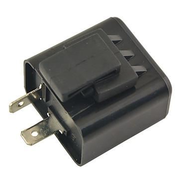Недорогие Аварийные инструменты-Реле указателя поворота мотоцикла 2-контактный светодиодный индикатор- (без звука. 12 В)