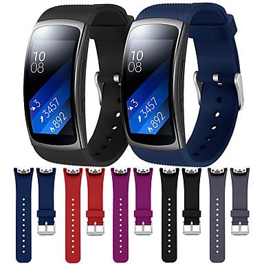 voordelige Smartwatch-accessoires-horlogeband voor samsung gear fit 2 / gear fit 2 pro samsung galaxy moderne gesp / klassieke gesp / sportband siliconen polsband