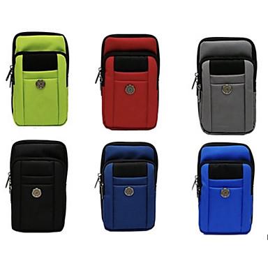 Недорогие Универсальные чехлы и сумочки-6,8-дюймовый подвесной набор для ручки для универсального держателя карты сплошной цветной мягкой оксфордской ткани