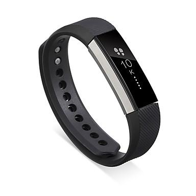 Недорогие Аксессуары для смарт-часов-Ремешок для часов для Fitbit Alta Fitbit Современная застежка силиконовый Повязка на запястье