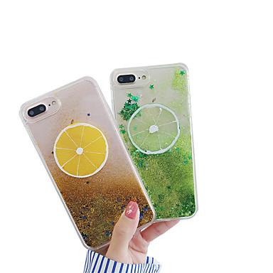 voordelige iPhone-hoesjes-case voor apple iphone xs max / iphone 8 plus vloeiende vloeistof / schokbestendig / stofdicht achterkant 3d cartoon / glitter shine zachte pc voor iphone 7/7 plus / 8/6/6 plus / xr / x / xs