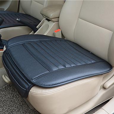 olcso Beltéri autós kiegészítők-lélegző pu bőr bambusz faszén autós belső ülés burkolat párna pad az automatikus kellékek irodai szék