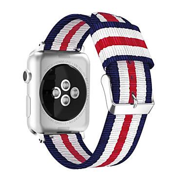 economico Accessori per cellulare-Cinturino per orologio  per Apple Watch Series 5/4/3/2/1 Apple Cinturino sportivo / Chiusura classica Nylon Custodia con cinturino a strappo