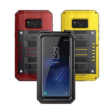 Недорогие Чехол Samsung-Кейс для Назначение SSamsung Galaxy S8 Plus Водонепроницаемый / Защита от удара Чехол броня Твердый Металл