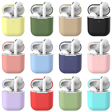 cheap AirPods Cases-Case For AirPods Shockproof Headphone Case Soft
