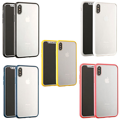 voordelige iPhone-hoesjes-hoesje Voor Apple iPhone XS / iPhone XR / iPhone XS Max Mat / Transparant Achterkant Transparant Zacht TPU