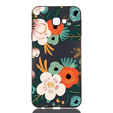 voordelige Galaxy J-serie hoesjes / covers-hoesje voor Samsung Galaxy J730 / J6 (2018) / J530 Schokbestendig / Mat / Patroon Achterkant Bloem TPU Soft voor Galaxy J330 / J6 Plus / J4 Plus / J4 2018 / M10 / M20 / M30 / J310 / J510 / J3 / J2 Pro