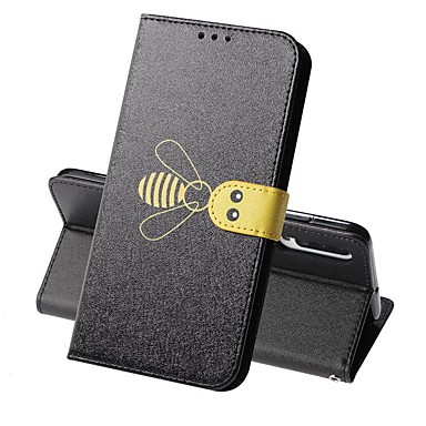 voordelige Galaxy A-serie hoesjes / covers-case voor Samsung Galaxy a70 (2019) / a7 (2018) magnetische / flip / shockproof full body gevallen dier / tegel hard pu leer voor galaxy a9 (2018) / a10 / a30 / a20 / a40 / a50 / a6 2018 / a8 plus /