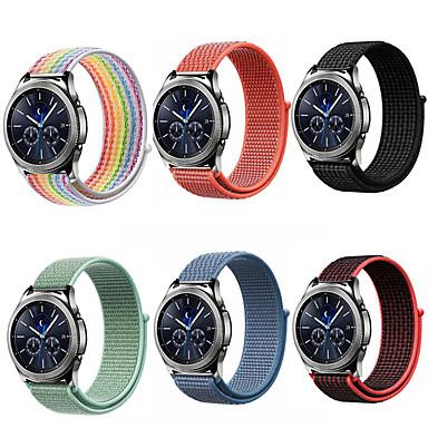 Недорогие Часы для Samsung-20 22мм ремешок для часов для samsung galaxy 46мм 42мм шестерня s3 frontier classic s2 спортивный нейлон amazfit bip huawei ремешок для часов gt
