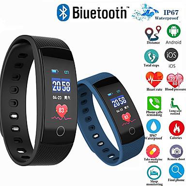 qs02 الذكية اسوارة qs80plus اللياقة البدنية تعقب ضغط الدم رصد معدل ضربات القلب smartband