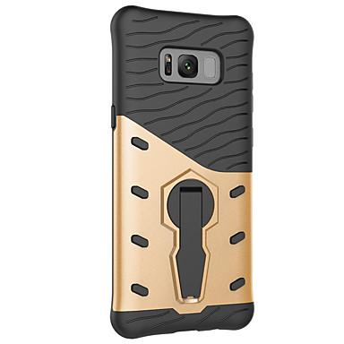 Недорогие Чехлы и кейсы для Galaxy S-Изысканный защитный чехол для телефона с вращающимся на 360 градусов кронштейном для телефона Samsung S8 / S8 Plus