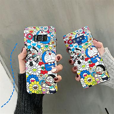 voordelige Galaxy S-serie hoesjes / covers-hoesje Voor Samsung Galaxy S9 / S9 Plus / S8 Plus IMD / Patroon Achterkant Cartoon Zacht TPU