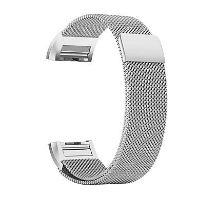 رخيصةأون أساور ساعات FitBit-حزام إلى Fitbit Charge 2 فيتبيت عقدة ميلانزية ستانلس ستيل شريط المعصم