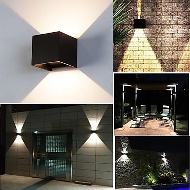 olcso Kültéri lámpa és gyertyatartók-ONDENN 1pack 10 W LED projektorok Dekoratív Meleg fehér / Hideg fehér 85-265 V Otthoni / Szabadtéri / Nappali / ebédlő 2 LED gyöngyök