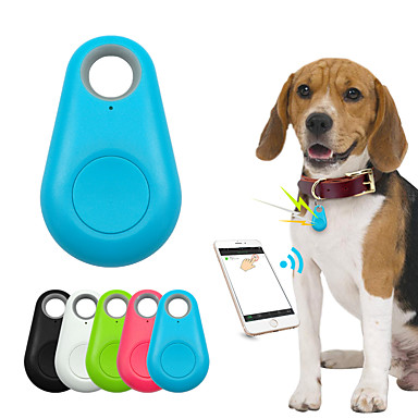 cheap Dog Supplies & Grooming-Kids Cat Pets GPS Collar / GPS tracker Wallet Key Finder Mini GPS Bluetooth Wireless Smart Anti-Lost Bluetooth 4.0 Electronic / Electric Solid Colored Plastic Pink Green 1pc