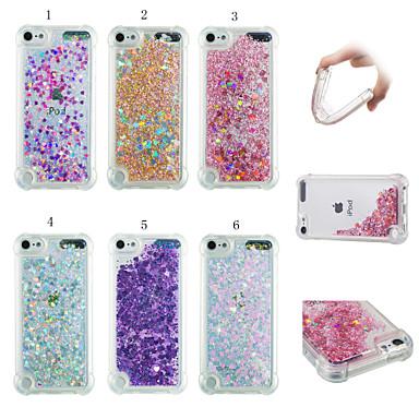 voordelige iPhone 7 hoesjes-hoesje Voor Apple iPhone XS / iPhone XR / iPhone XS Max Schokbestendig / Stofbestendig / Stromende vloeistof Achterkant 3D Cartoon / Glitterglans Zacht TPU