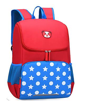 povoljno Modni dodaci za djecu-Velika zapremnina Najlon Patent-zatvarač Školska torba Životinja Dnevno Red / Blushing Pink / Sky blue / Djevojčice