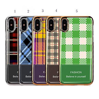 Недорогие Кейсы для iPhone X-чехол для яблока iphone xr / iphone xs max покрытие / противоударная задняя крышка геометрический рисунок для iphone 6 / iphone 6 plus / 7 / 7pius / 8 / 8pius / x / xs