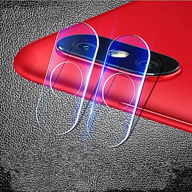 Недорогие Защитные плёнки для экранов Xiaomi-Защитная пленка для экрана xiaomi a2 / xiaomi mi 6x (mi a2) из закаленного стекла 1 шт. Защитная пленка для объектива камеры высокого разрешения (HD) / 9h твердость / взрывозащищенный