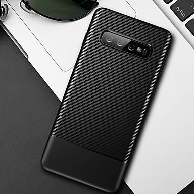 Недорогие Чехлы и кейсы для Galaxy S-Мягкий чехол для телефона из углеродного волокна для Samsung Galaxy S10 Plus S10E S10 S9 Plus S9 S8 Plus S8 Чехлы силиконовые