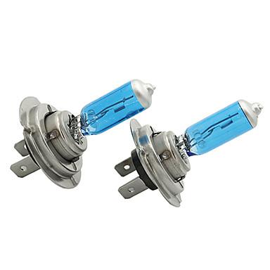 Недорогие Фары для мотоциклов-2 шт. / Компл. H7 12 В 55 Вт белый 6300 К синий свет фар автомобиля лампы освещения автомобиля