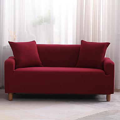 joustava sohvakansi 1 kpl halpa liukukansi yksivärinen korkealaatuinen sohvan kansi pehmeästä kankaasta valmistettujen huonekalujen suojus nojatuolin loveseat tilalle