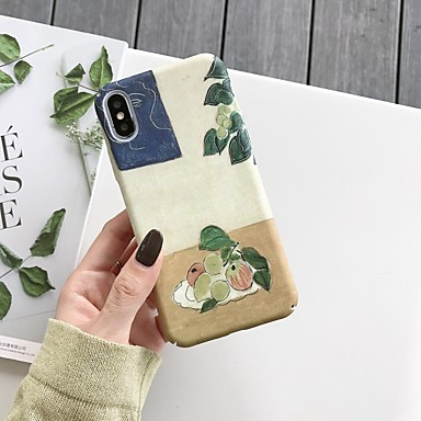 voordelige iPhone 7 hoesjes-hoesje Voor Apple iPhone XS / iPhone XR / iPhone XS Max Schokbestendig / Patroon Achterkant Cartoon TPU