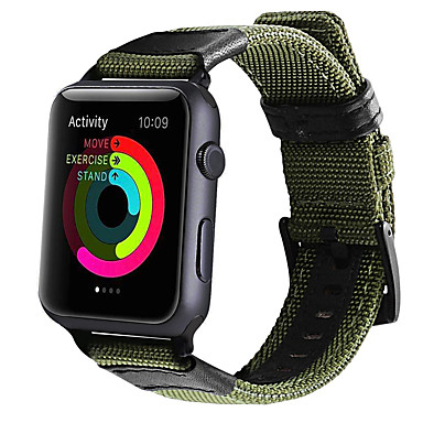 voordelige Smartwatch-accessoires-Horlogeband voor Apple Watch Series 4 / Apple Watch Series 3 / Apple Watch Series 2 Apple Klassieke gesp Stof Polsband