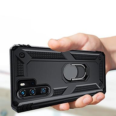 povoljno Maske/futrole za Huawei-luksuzni oklop mekani otporan na udarce slučaj za huawei p30 pro p30 lite p30 silikon auto držač prsten slučaju \ t