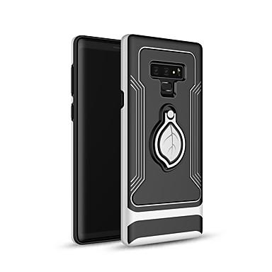 Недорогие Чехлы и кейсы для Galaxy Note-Кейс для Назначение SSamsung Galaxy Note 9 Кольца-держатели / Ультратонкий Кейс на заднюю панель Пейзаж ПК